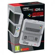 Nintendo 3DS XL SNES Edition Grey Console - Fully Boxed