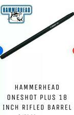 hammerhead one shot 18 inch rifled first strike barrel