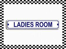 (SA-1239) Ladies Room Bathroom Street Sign 3x18 Metal Plaque