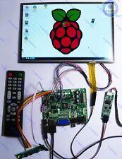 10.1inch 1280*800 lcd touch screen Display HDMI+AV+VGA+USB Controller board