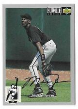 Upper Deck Michael Jordan Collectors Choice #23 Baseball 1994