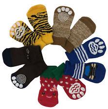 Dog Puppy Anti-Slip Socks - For Tiny & Small Breeds - Choose Design S, M, L, XL