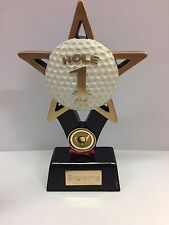 Golf Hole in One Trophy Engraving