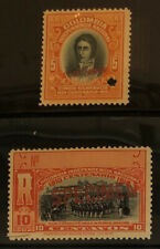 COLOMBIA  F22, H17  Mint  Never  Hinged  SPECIMEN  Issues 1910   PEN30