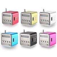 TD -V26 Portable Micro SD / TF Music Player Digital LCD Display FM Radio Speaker