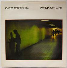 "DIRE STRAITS Walk Of Life 1985 UK Promo 12"" TEST PRESSING Mark Knopfler MINTY!"