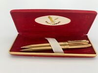 Vintage Centennial Ink Pen and Mechanical Pencil writing set in box