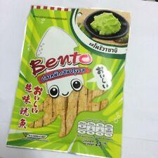 BENTO Seafood Snack Japanese [Squid mix Surimi] Wasabi Flavor party picnic