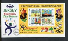 JERSEY FDC - 2000 Stampin The Future Competition