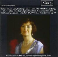 Nordic Contemporary Songs by Fartein Valen/David Johansen/Gosta [CD]
