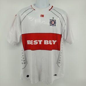 Chicago Fire Jersey Size L Cuauhtémoc Blanco #10 Futbol Soccer
