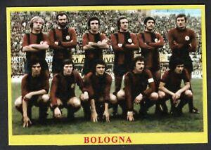 RARA FIGURINA CALCIATORI CALCIO SQUADRE BAGGIOLI ? 1975 BOLOGNA