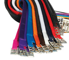 """RHINEGOLD COTTON PADDED GIRTHS 1000S SOLD LOTS OF COLOURS 16"""" TO 56"""" ALL COLOURS"""