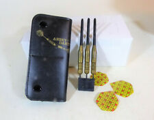 Abbey Darts, Steel Tip, 29 grams Made in England Brass Shaft with Soft case