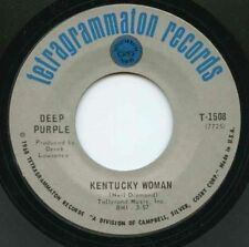 "Deep PURPLE / KENTUCKY WOMAN (1968) 7"" ORIGINAL USA + HARD ROAD  rare !!!!!!!!!"