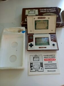 Nintendo Game & Watch Donkey Kong 2 JR-55 1983 Vintage Retro Excellent Boxed