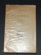 Oeuvres complètes de Mérimée par Maurice Parturier