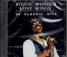 CD - STEVIE WONDER / Love songs