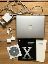 Apple PowerBook G4 12'' / PowerBook6,8 (2005) - mit Case und Zubehör