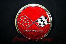 1975-1976 Corvette Front Nose Emblem Nice!