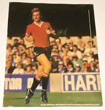 Gordon McQueen Vintage Manchester United and Scotland Puma Promo Poster
