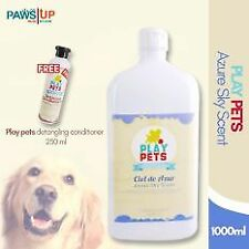 Play pets Azure sky scent Shampoo and Conditioner 1000 ml Bundle