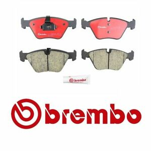 Ceramic Rear Brake Pads /& Right Wear Sensor Brembo For BMW E46 330i 330Ci 330xi