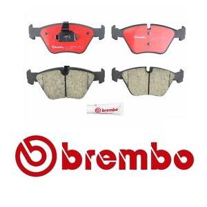 Ceramic Rear Brake Pads /& Right Wear Sensor Brembo For BMW E46 330i 330Ci 330xi