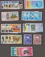 Tuvalu - 1976 -1981 Complete Sets. Sc. #38//165. SG #45//178. Mint. NH