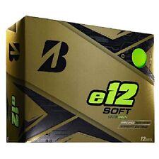 Bridgestone 2020 e12 Soft Matte Green Golf Balls - 1 Dozen