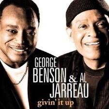 "GEORGE BENSON/AL JARREAU ""givin IT UP"" CD NEUF"