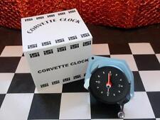 1977 77 New Corvette Electric Clock