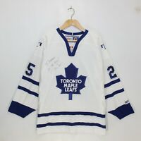 Vintage Joe Nieuwendyk Toronto Maple Leafs CCM NHL Hockey Jersey Mens Size Large
