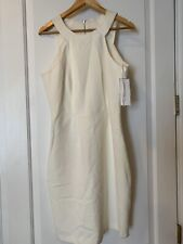 Women's French Connection Knit Dress, Size 10 White $198