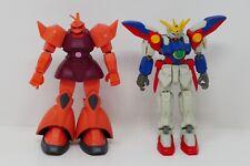Bandai Gundam Mobile Suit Gundam Wing Zero & Char's Gelgoog Loose Action Figures