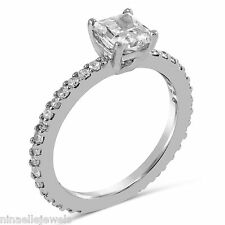 1.45ctw Princess Cut Eternity Diamond Engagement Ring  ON SALE