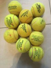 10 gebrauchte Tennisbälle von Dunlop und Co.