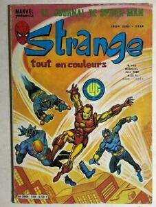 STRANGE #148 French color Marvel Comic (1982) Spider-Man X-Men Iron Man DD VG+