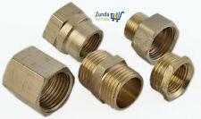 Pneumatik Druckluft Schlauchtülle Rohrverbindung Adapter Schlauchnippel Messing