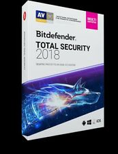 BitDefender TOTAL Security Multi device 2018 - 5 dispositivi & PC | 1 anno + VPN