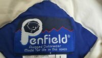 Vintage! PENFIELD Full-Zip DOWN Puffer VEST Blue LARGE