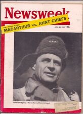 NEWSWEEK magazine-apr 30,1951-GENERAL RIDGWAY:WAR IN KOREA,PEACE IN JAPAN.