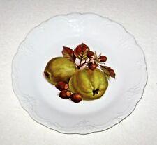 Tirschenreuth Bavaria Germany Baronesse Fruit & Nuts Porcelain Plate