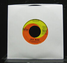 "Cilla Black - Alfie / Night Time Is Here VG 7"" Vinyl 45 Record 1966 Captiol 5674"