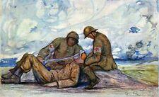 """160419# AK - WW1 - PIERRE PAULUS - """"BRANCARDIERS BELGES: PREMIER PANSEMENT  009#"""