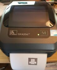 Zebra Gk420d Label Printer With PSP and USB Cable