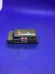 Vintage US Army Diecast Ambulance Van Unbranded US Military Medical Vehicle Mint