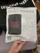 Sweet Sweat Waist Trimmer, Small, Black & Pink, 1 Belt