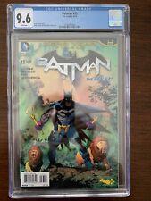 Batman #33 CGC 9.6 (DC 2014)  Zero Year Finale.  Key!