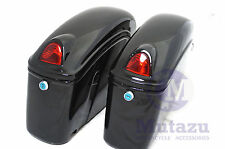 Mutazu FY Hard Saddlebags for V star Virago Magna Shadow Sabre Eliminator M109R